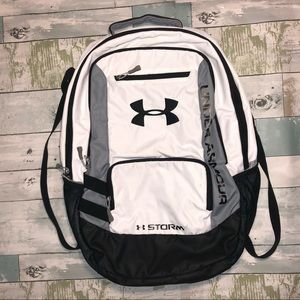 Under Armour White Backpack